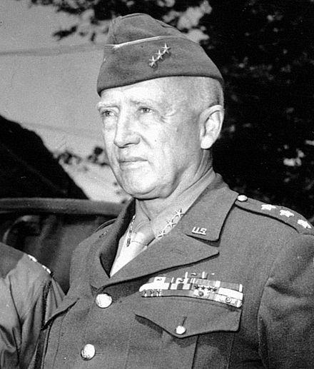 Patton as a lieutenant general