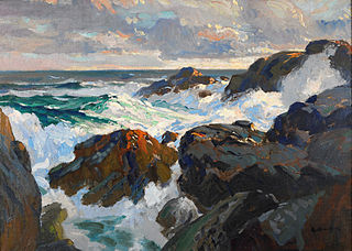 Crashing Waves (Coast of Maine)