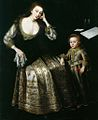 Paul van Somer Frances Lady Willoughby and her son Francis, Lord Willoughby of Parham.jpg