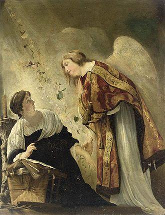 Paulus Bor - Paulus Bor, The Annunciation of the Virgin's Death, c. 1635-1640, National Gallery of Canada, Ottawa