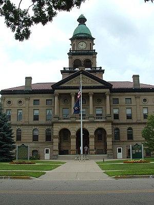 Paw Paw, Michigan - Van Buren County Courthouse
