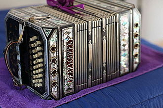 Chemnitzer concertina - Pearl Queen Diamond Deluxe
