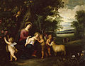Peeter van Avont - Holy Family Departing for Egypt - Walters 371197.jpg