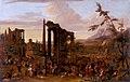Peeter van Bredael (1629-1719) - Market Scene Set amidst a Capriccio of Ruins - 719453 - National Trust.jpg