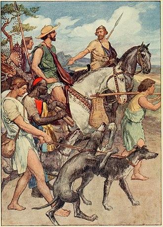 Pelopidas - Pelopidas setting out for Thebes