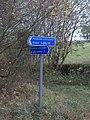 Pennine Cycleway signpost - geograph.org.uk - 609156.jpg