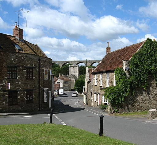Pensford High Street, from lock-up