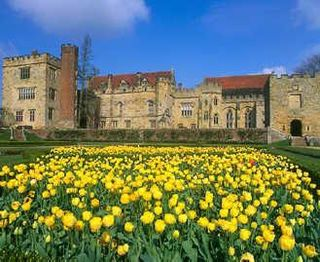 Penshurst Place historic building near Tonbridge, Kent in England