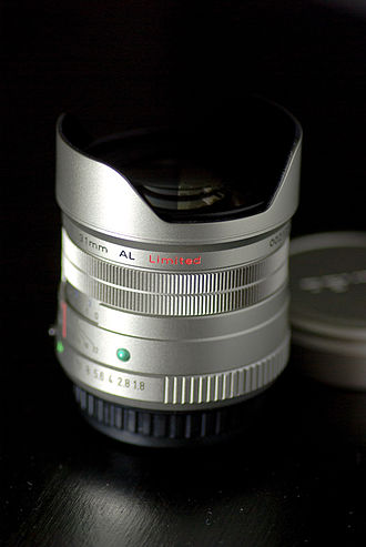 Pentax (lens) - Pentax smc FA 31mm F1.8 Limited