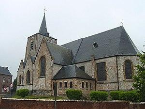 Pepingen - Image: Pepingen Church