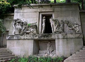 Монумент померлим на пер лашез