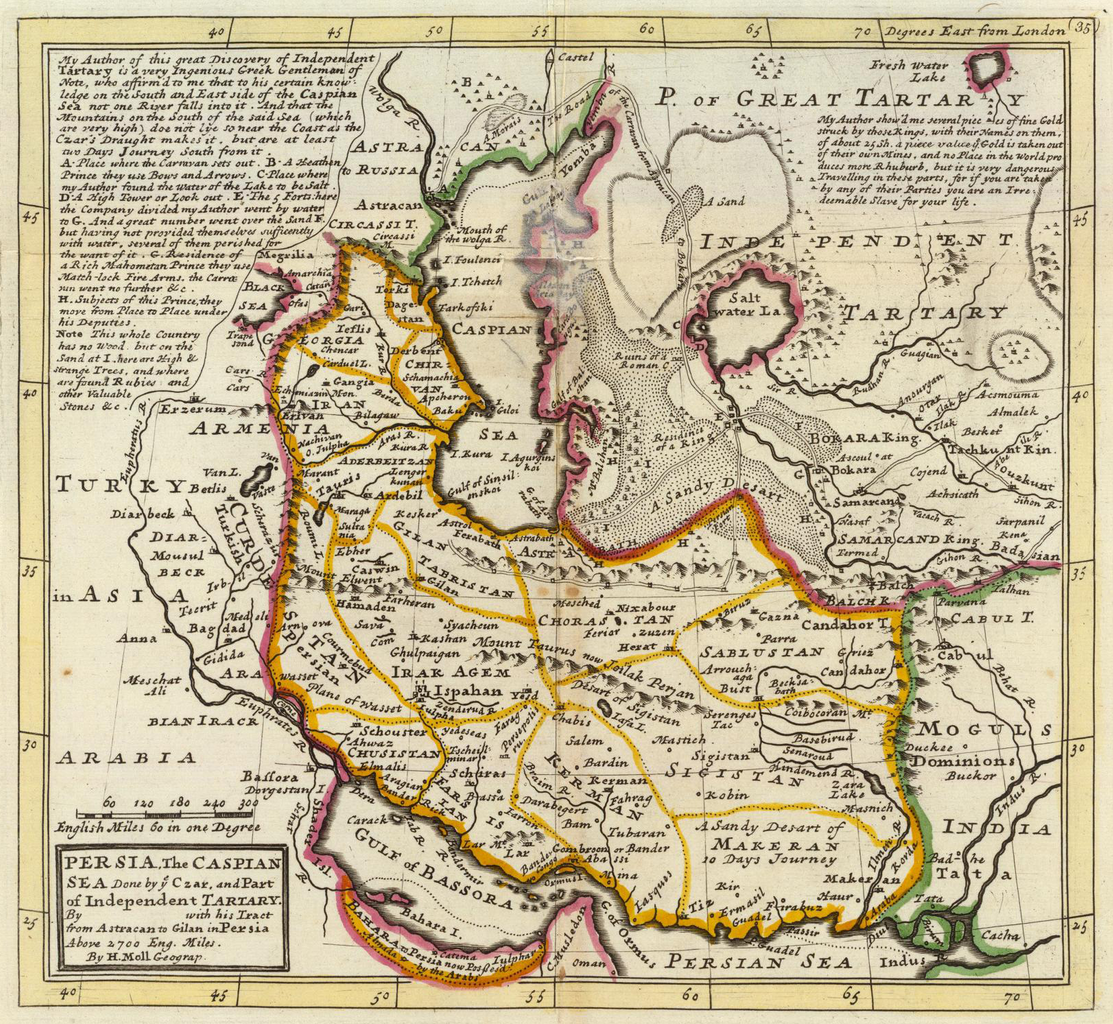 Persia: File:Persia, Caspian Sea, Part Of Independent Tartary.png