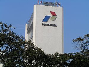 Head office of the Indonesian state oil compan...