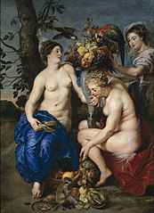 Ceres and Two Nymphs