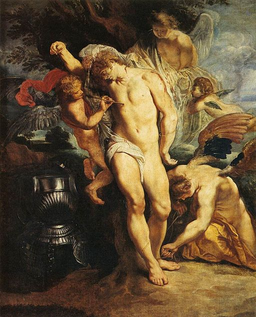 Peter Paul Rubens - The Martyrdom of St Sebastian - WGA20185