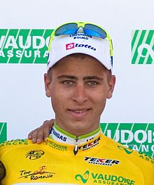 Peter Sagan - seconde étape du Tour de Romandie 2010 cropped.jpg