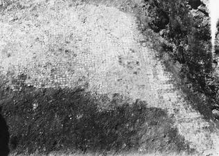 Pezoullia, provschakt 1, mosaikgolv, detalj. Soli - SMVK - C00719.tif