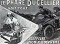 Phare automobile à acétylène Ducellier (1906).jpg