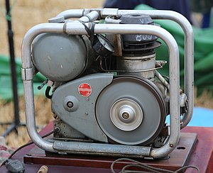 Stirling engine - Philips MP1002CA Stirling generator of 1951