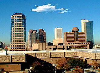 Climate resilience - The outdated infrastructure pictured here in the Phoenix downtown will be undergoing drastic changes geared towards improvements in efficiency.