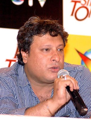 Tigmanshu Dhulia - Dhulia at DVD launch of Paan Singh Tomar, 2012