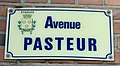 Photo de plaque de rue prise dans la commune d'Étaples - avenue Pasteur.jpg