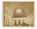 Photograph, View of the Interior of the Church of St. John the Baptist, Brooklyn, Looking West Toward the Rose Window, 1902 (CH 18440281).jpg