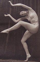 Photogravure nude dancing woman by Lucien Walery 1923.jpg