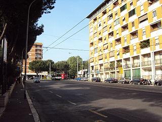 Val Melaina Zona of Rome in Latium, Italy