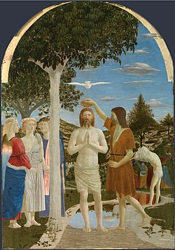 The Baptism of Christ, 1442 (National Gallery, London)