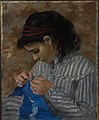 Pierre-Auguste Renoir - Lise Sewing - 1985.R.59 - Dallas Museum of Art.jpg
