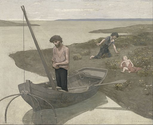 Pierre Puvis de Chavannes - The Poor Fisherman - Google Art Project