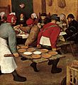 Pieter Bruegel the Elder - Peasant Wedding (detail) - WGA3495.jpg