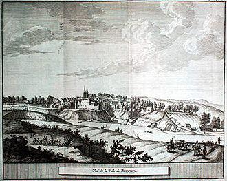 Brechin Cathedral - Image: Pieter van der Aa Brechin 1727