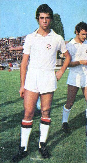 Pietro Paolo Virdis - Virdis with Cagliari in 1974–75 season