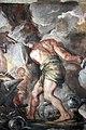 Pietro da cortona, Trionfo della Divina Provvidenza, 1632-39, Pace in trono, fucina di vulcano e tempio di giano 04.JPG