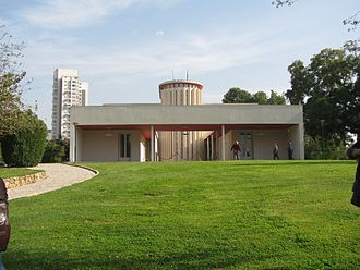 Weizmann Institute of Science - Weizmann residence, designed by Erich Mendelsohn