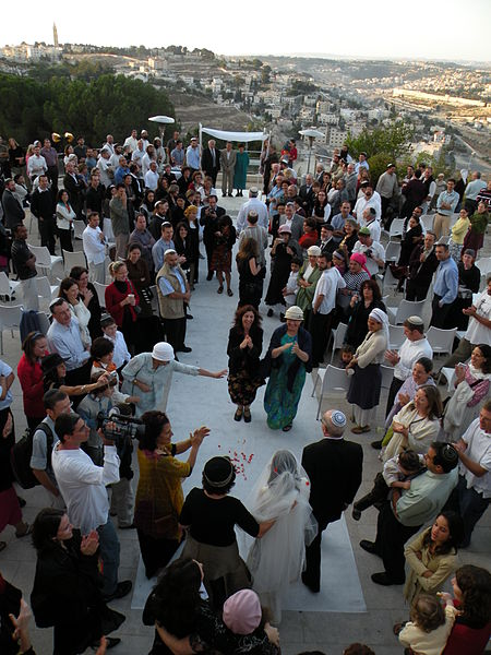 File:PikiWiki Israel 38202 Wedding at Sunrise in front of the Temple Mount.JPG
