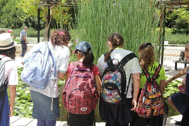tec4schools פעילות בגן הנדיב