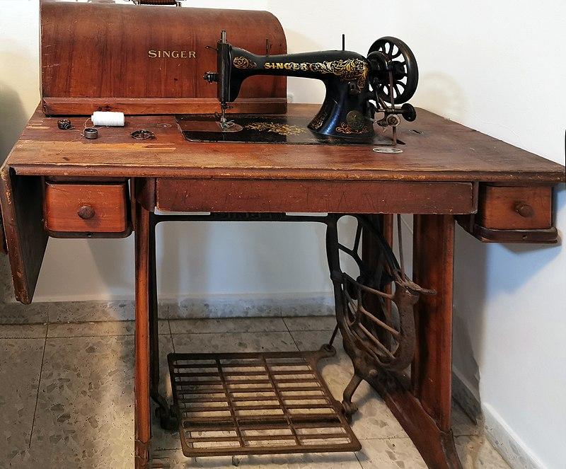 מכונת תפירה זינגר