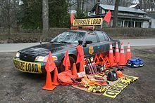 Wide load escort licensing