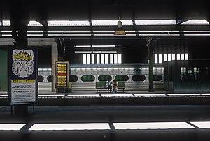 Pioneer III (railcar) - A Pioneer III car at 30th Street Station in 1976