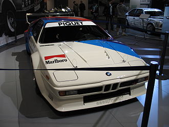 BMW M1 Procar Championship - A Procar BMW M1 driven by 1980 champion Nelson Piquet