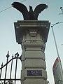 Place Neuve pedestal with eagle.JPG