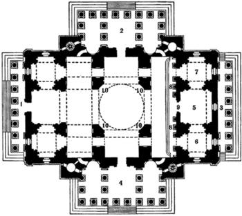План Исаакиевского собора