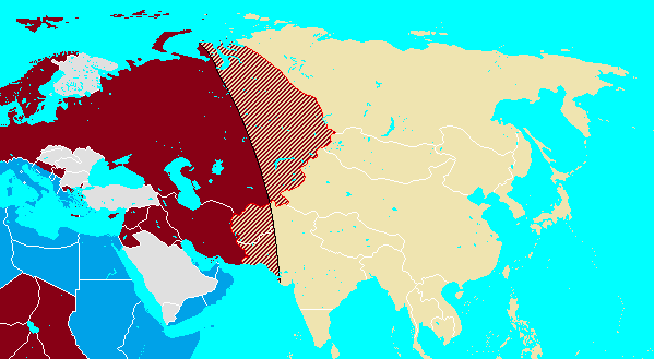 Planned partition of Asia