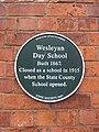 Plaque - Wesleyan Day School, Barton-upon-Humber.jpg