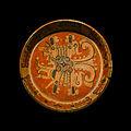 Plat maya avec signe planète Vénus, expo musée Quai Branly Paris.jpg