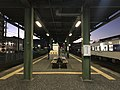 Platform of Imari Station (Matsuura Railway) 6.jpg