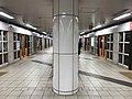 Platform of Nijo Station (Kyoto Municipal Subway) 2.jpg